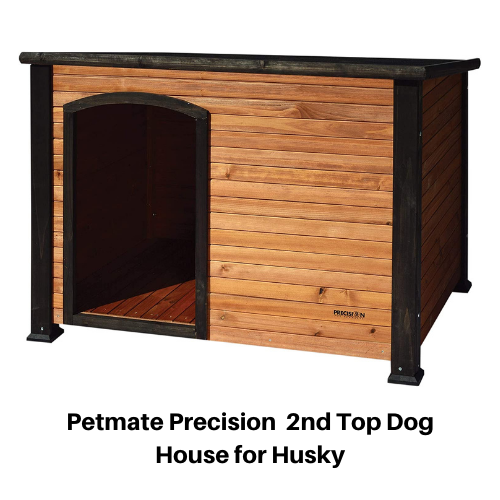 Petmate Precision top Dog house for Husky